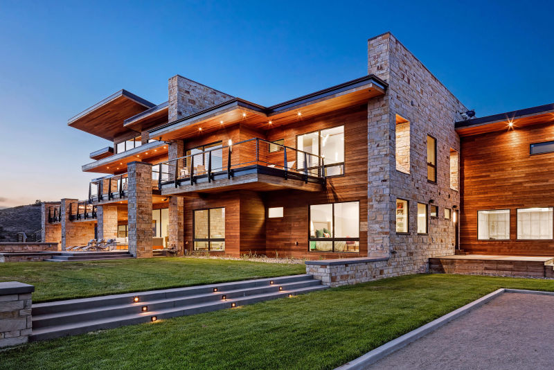 Mountain Estate Home - Heber City, Utah. Architectural Photography by Alan Blakely.