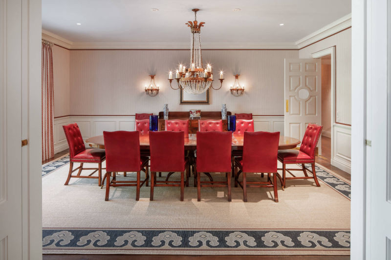 Dining Room by Alan Blakely Architectural Photography