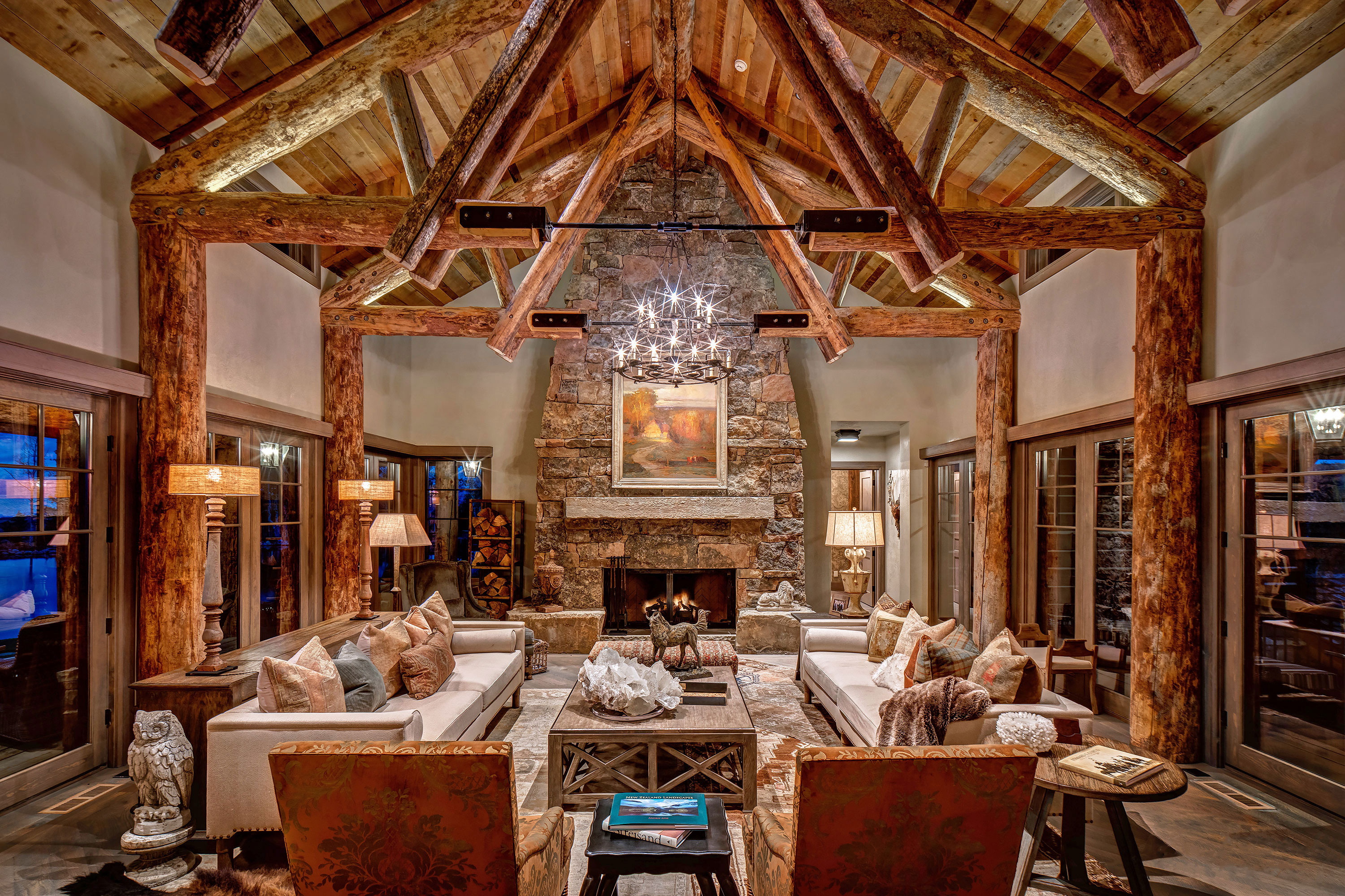 Mountain Estate Home - Park City, Utah. Architectural Photography by Alan Blakely.
